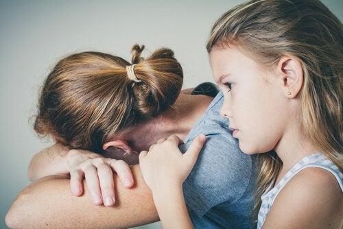 Oddziaływanie depresji na relację matki z dziećmi