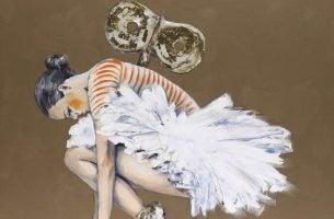 Balerina z kluczykiem w plecach - ucieczka