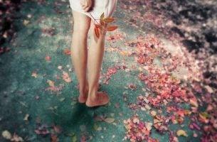 Nogi dziewczyny - teraźniejszość