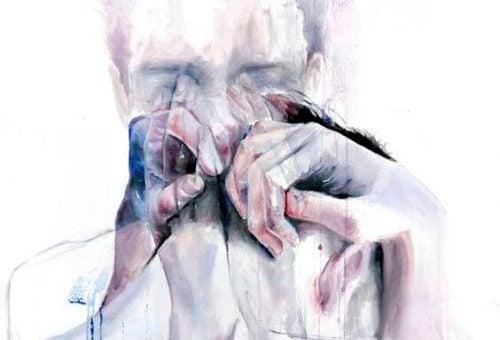 Płacz człowieka