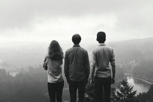 Przyjaźń - trzy osoby