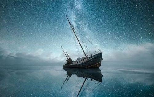 Statek symbolizujący zaniechanie