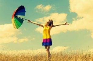 Dziewczyna - szczęśliwi ludzie