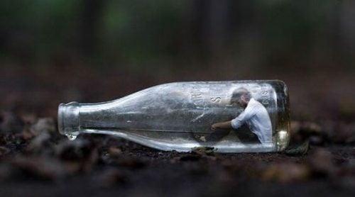 Człowiek w butelce