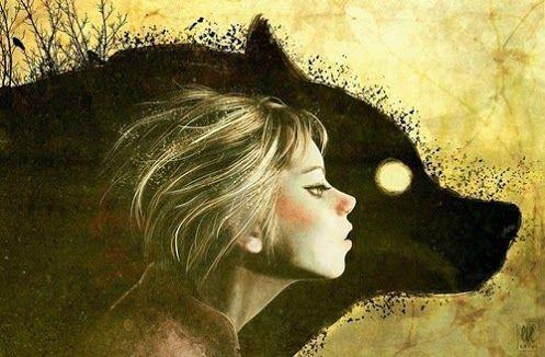 Dziewczyna i wilk