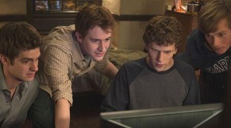 """Kadr z filmu """"The Social Network"""""""