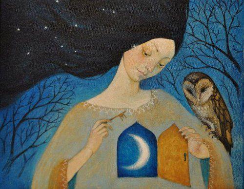 Kobieta z kluczem do serca
