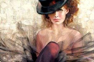 kobieta w kapeluszu - rozwój osobisty