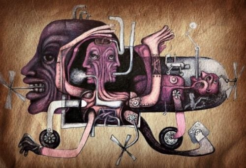 Abstrakcyjna reprezentacja osoby