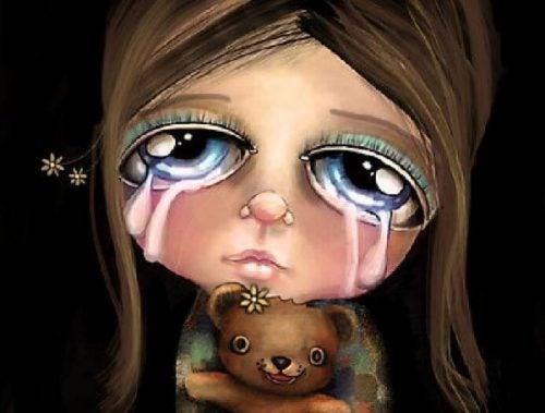 Nie płacz - nigdy nie mów tego dziecku