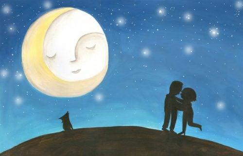 Para i księżyc