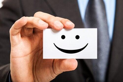 Uśmiechnięta karteczka