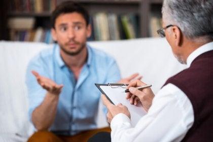 Terapeuta i pacjent