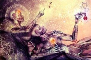 Umięśnione ciała - wszechświat.