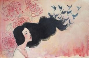 Bagaż emocjonalny - włosy z ptaków