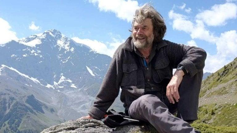 Kiedy jestem w górach. Reinhold Messner.