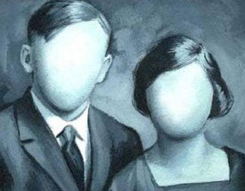 Dwoje ludzi bez twarzy