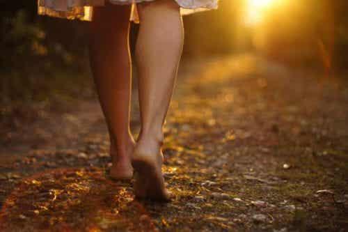 Sens życia - jeśli chcesz go znaleźć, po prostu idź przed siebie