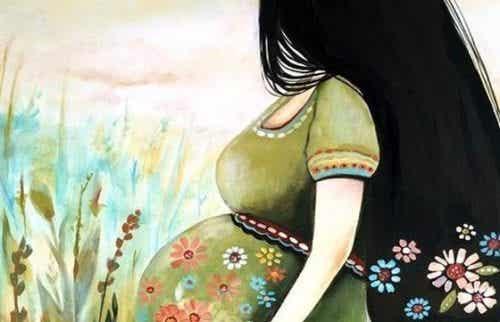 Ciąża: kochanie kogoś, kogo jeszcze nie znasz