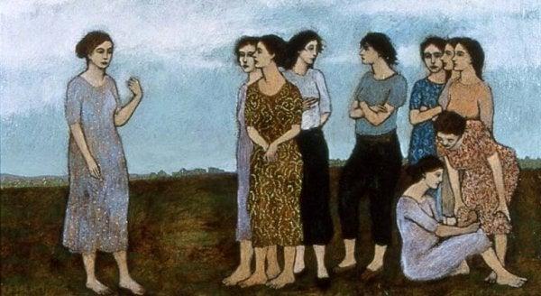Matki - grupa kobiet.