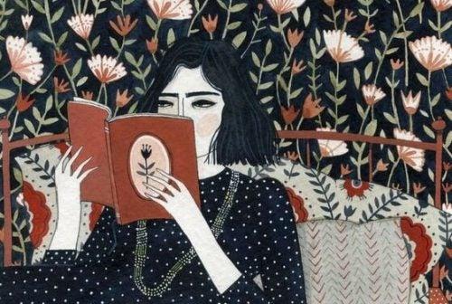 Mądre kobiety dbają o siebie na przykład czytając książki