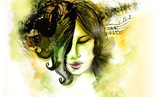 Włączyła muzykę, aby wyłączyć życie. By wyciszyć głosy w głowie