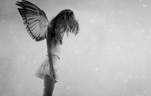 smutny anioł