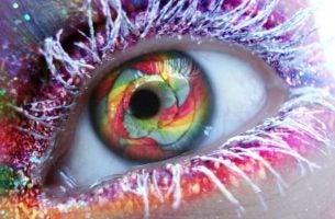 Tęczowe oczy
