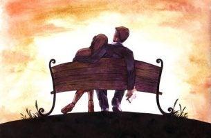 Miłość romantyczna to radość ze spędzania czasu z ukochaną osobą