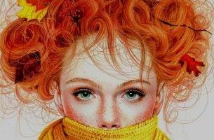 Ruda dziewczyna - niedoskonałość