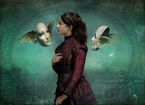 Kobieta i maski - poczucie winy