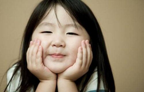 Japońska dziewczynka.