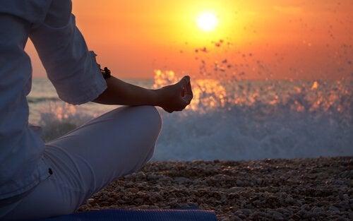 Medytacja na plaży