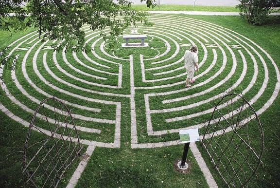Labirynt i medytacja.