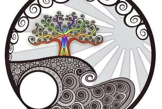 Kolorowe drzewo.