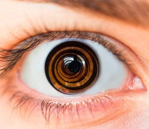 Oko ze spiralą