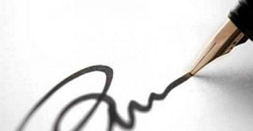 Podpis i pióro