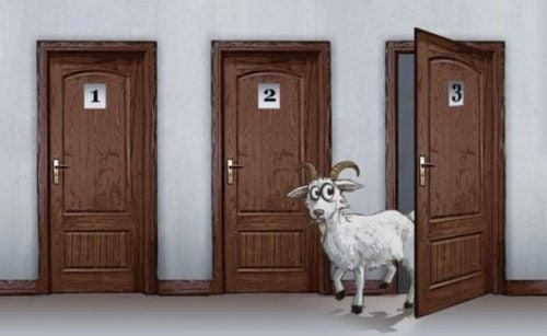 Paradoks Monty'ego Halla - Troje drzwi i koza