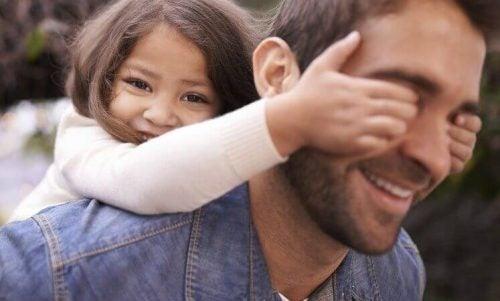Córka z tatą