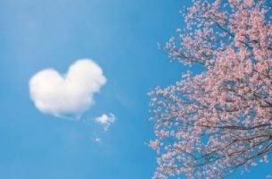 Chmura w kształcie serca - chińskie przysłowia o miłości