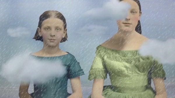Dwie dziewczynki.