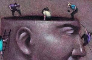 Ekipa telewizyjna wewnątrz głowy - kłamstwo