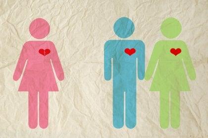 Niewierność - figurki trzech osób