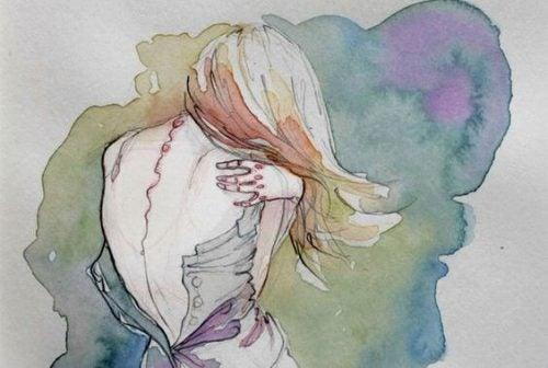 kobieta-obejmuje-siebie