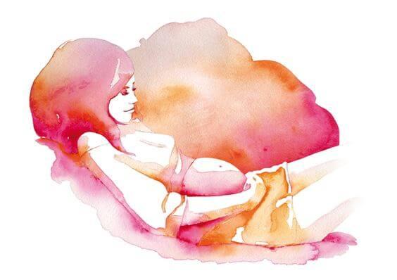 Kobieta w ciąży.