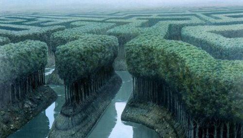 Labirynt z drzew