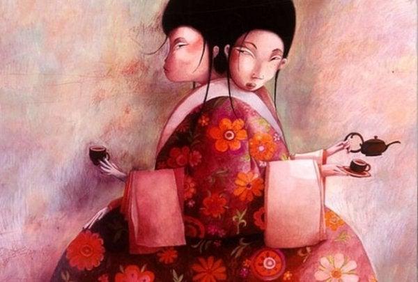 Długodystansowa uczciwość. Dwie kobiety na herbatce.
