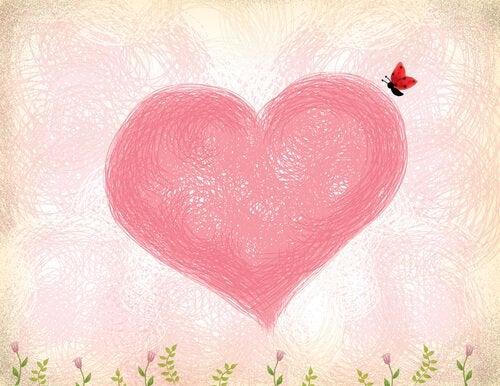 Serce i motyl