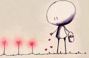 inteligencja emocjonalna - sianie serc