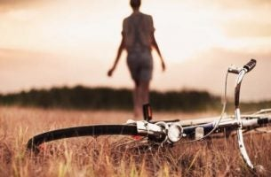 Spacer z rowerem, kiedy przyjaciele nas zawodzą